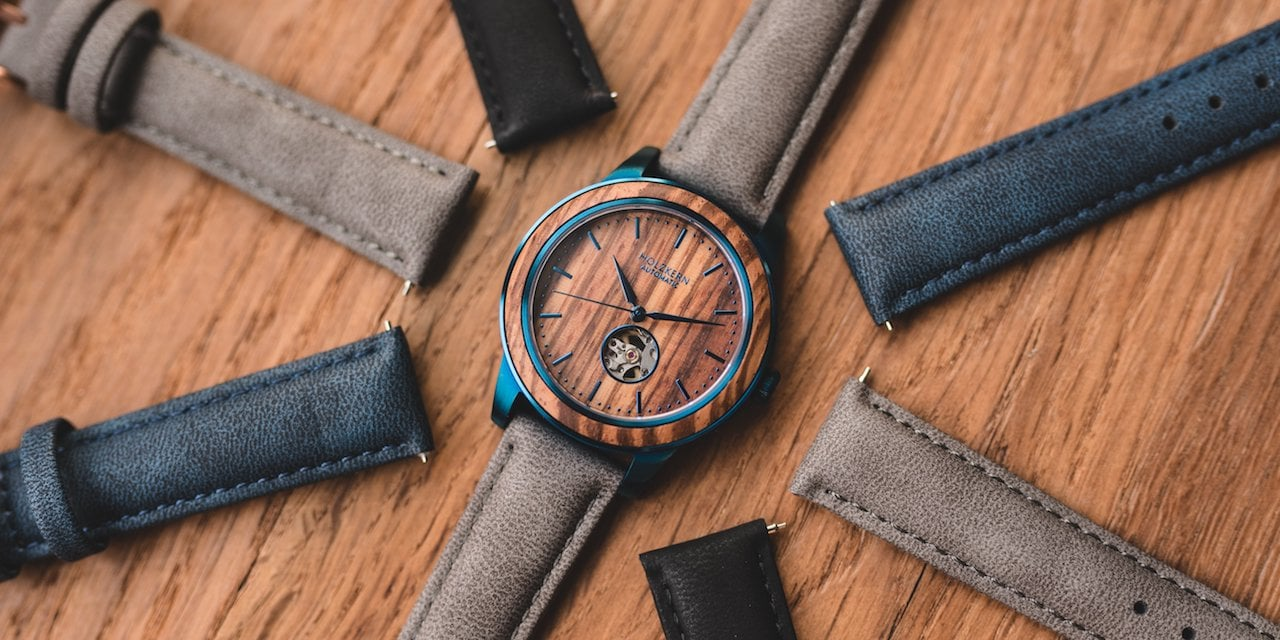 Leather straps 18mm