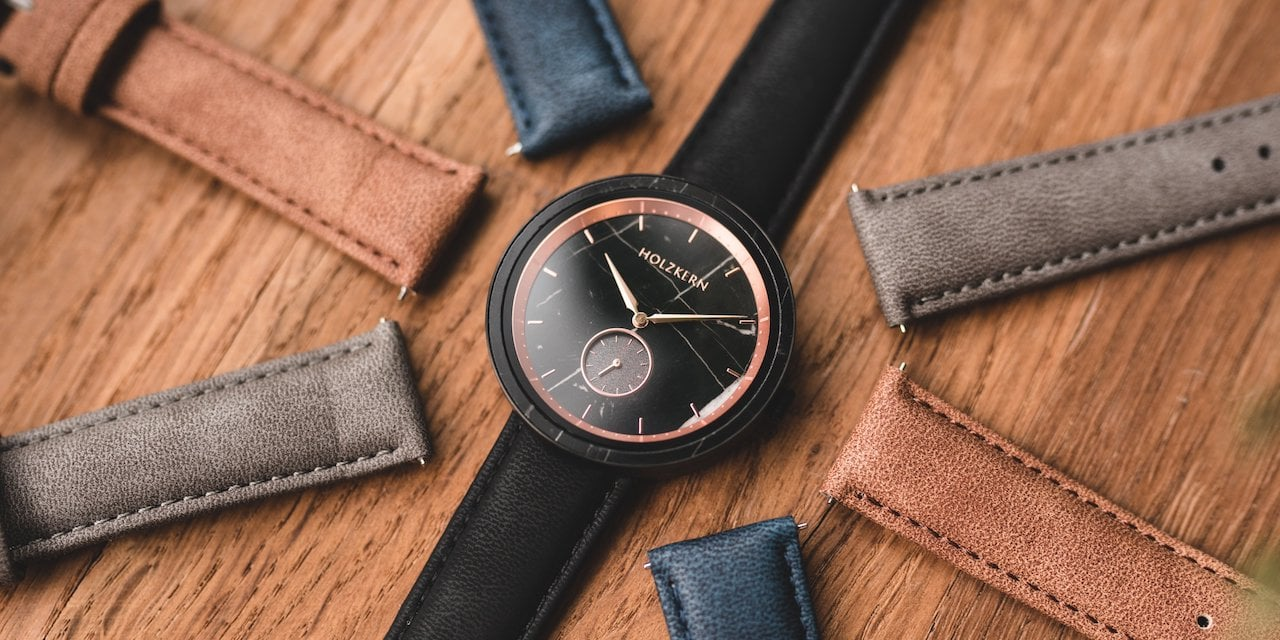 Leather straps 20mm