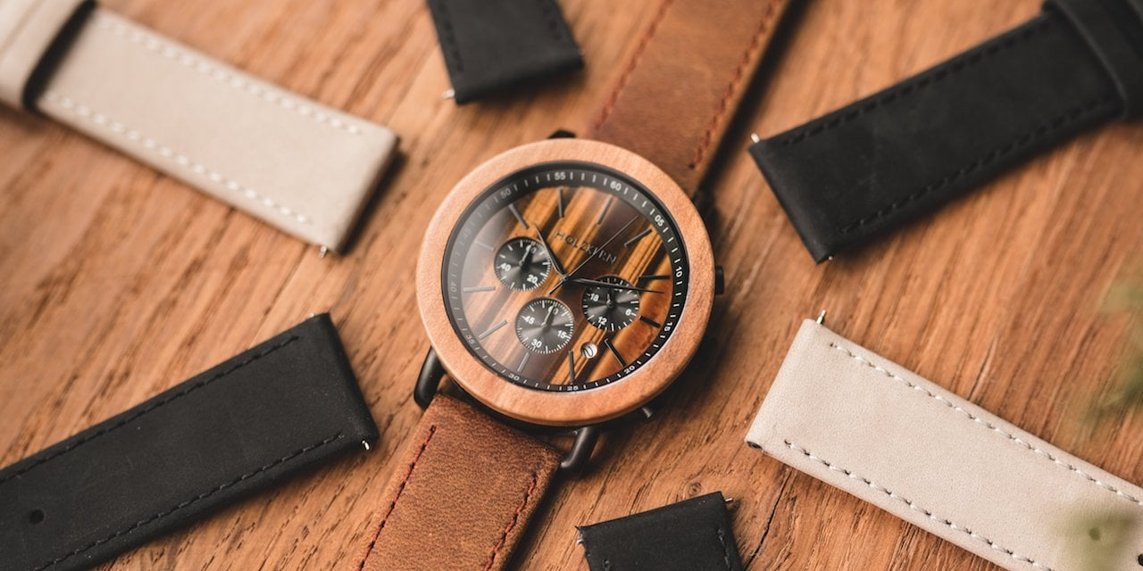 Leather straps 22mm