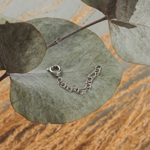 Jewelry Extender (Silver, 4cm)