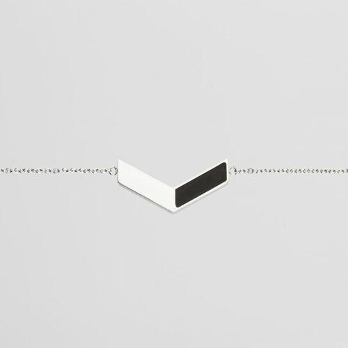 Elevation Bracelet (Slate/Silver)