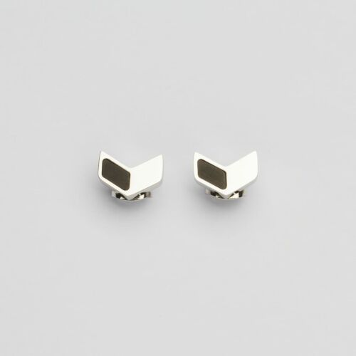 Elevation Earrings (Slate/Silver)