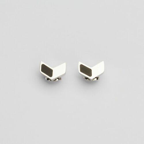 Elevation Earrings (Slate/Silver)
