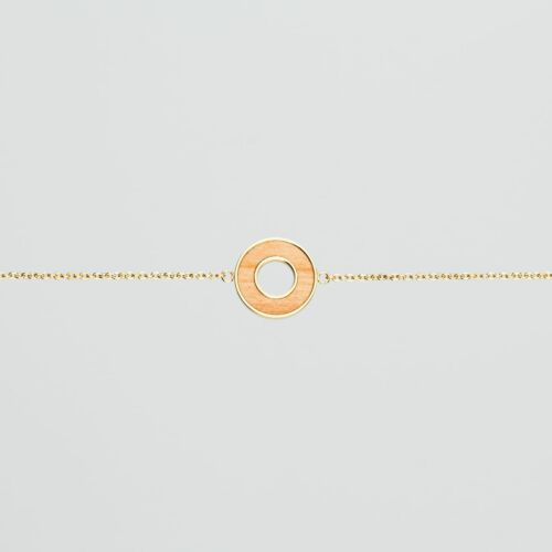 Ornament Bracelet (Apple/Gold)