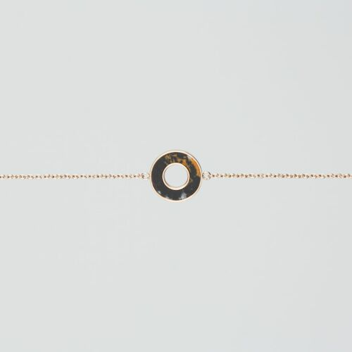 Ornament Bracelet (Marble/Rose Gold)