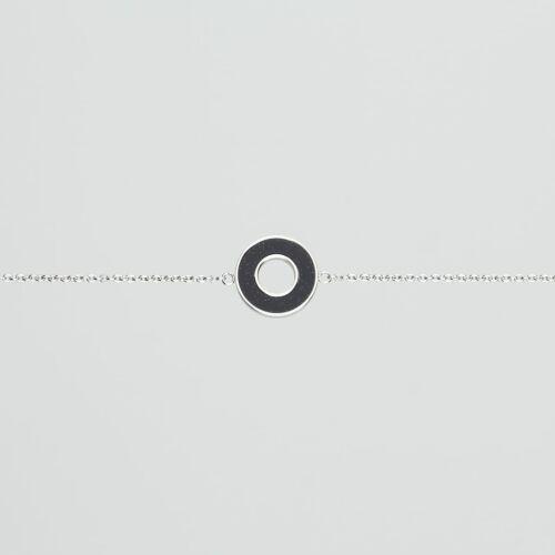 Ornament Bracelet (Sandstone/Silver)