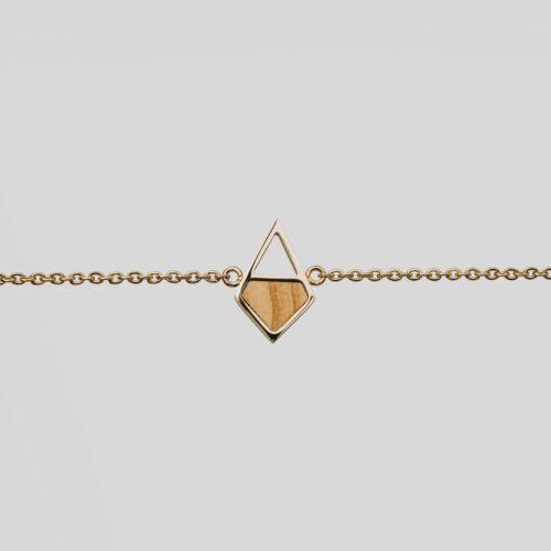 Mandala Bracelet (Olive/Gold)
