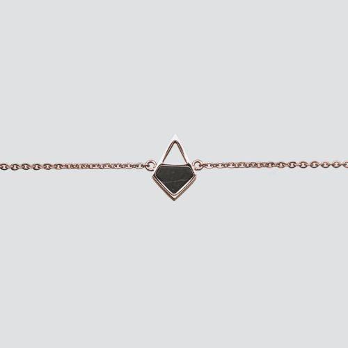 Mandala Bracelet (Marble/Rose Gold)