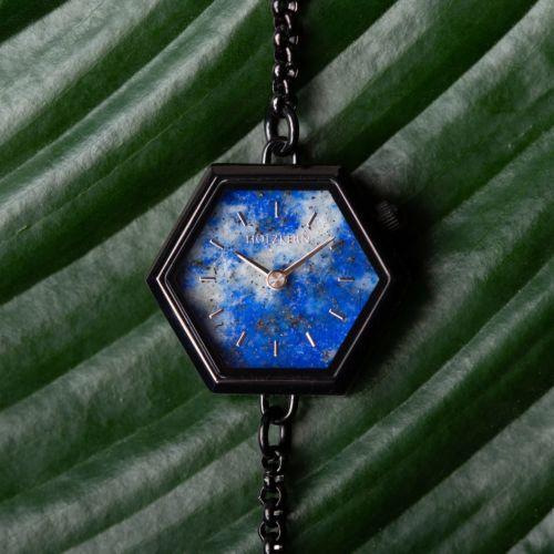 Snowdrop (Lapis Lazuli/Black)