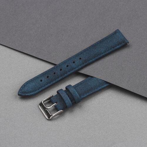 Strap Eric 18mm Vegan (Blue/Silver)