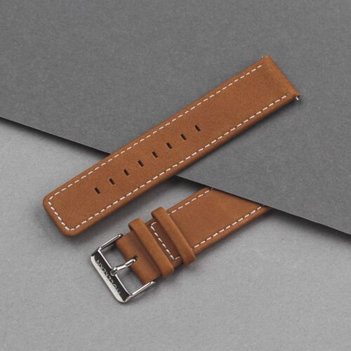 Strap Robin 22mm (Brown/Silver)