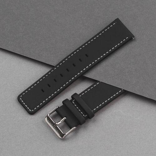 Strap Robin 22mm (Black/Silver)