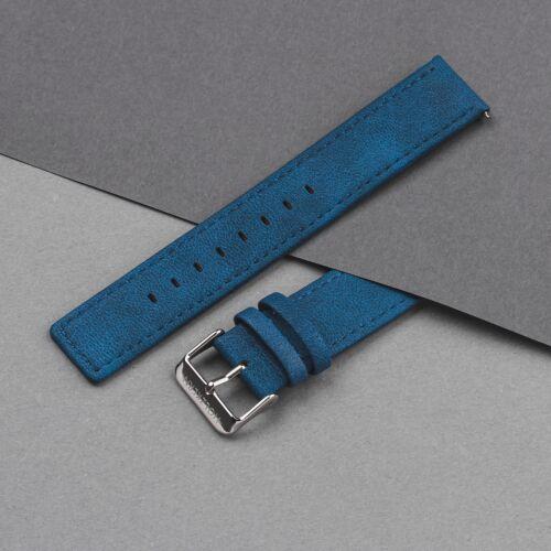 Strap Paul 20mm Vegan (Blue/Silver)