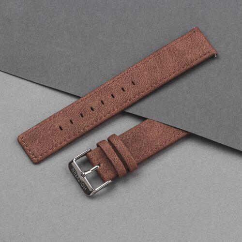 Strap Paul 20mm Vegan (Brown/Silver)