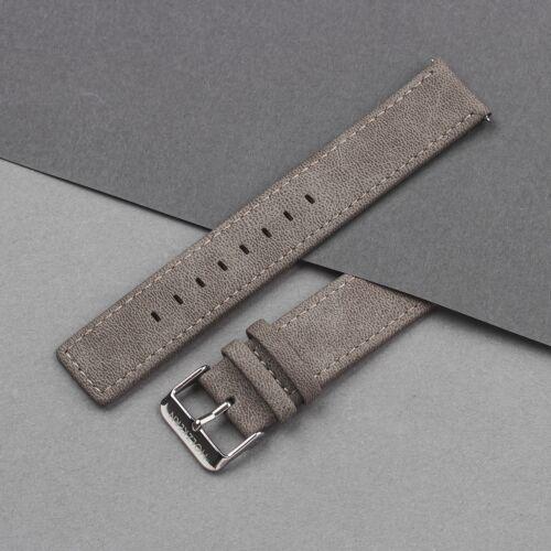 Strap Paul 20mm Vegan (Gray/Silver)