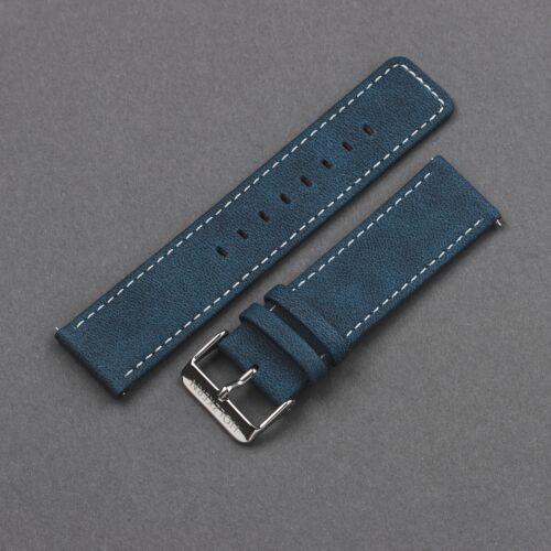 Strap Robin 22mm Vegan (Blue/Silver)