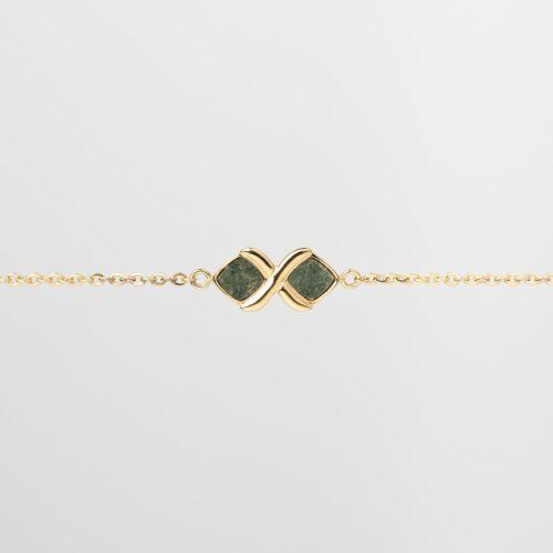 Mosaic Bracelet (Slate/Gold)