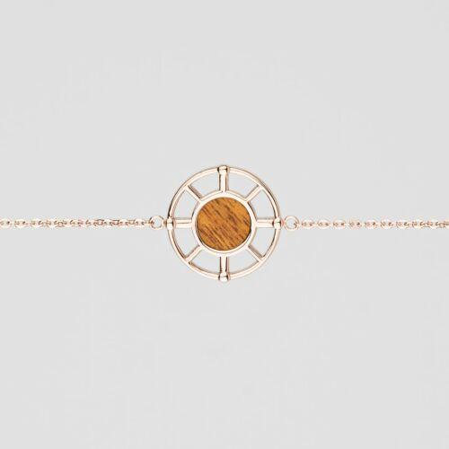 Amulet Bracelet (Koa/Rose Gold)
