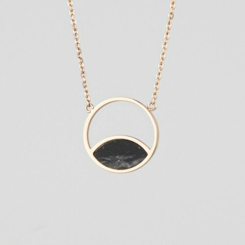 Perception Necklace (Marble/Rose Gold)
