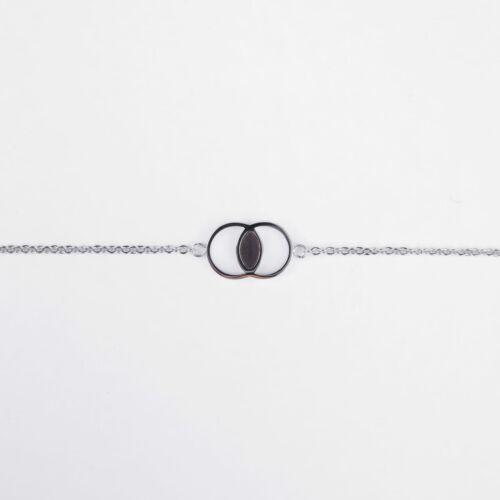 Effigy Bracelet (Leadwood/Silver)