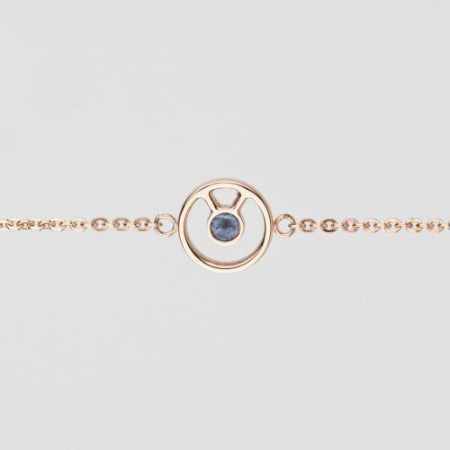 Concentric Bracelet (Marble/Rose Gold)