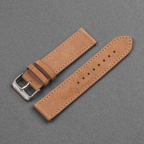 Strap Tim 22mm (Light Brown/Silver)