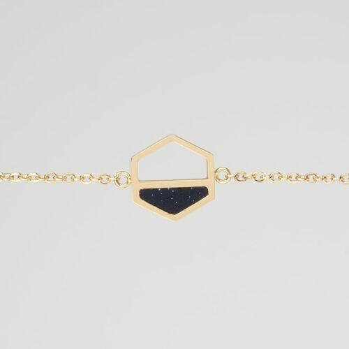 Assemblage Bracelet (Sandstone/Gold)