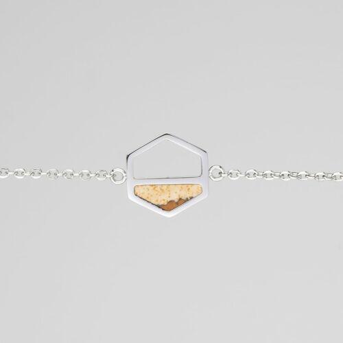 Assemblage Bracelet (Marble/Silver)