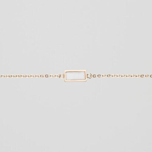Contour Bracelet (Marble/Rose Gold)