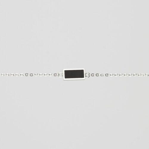 Contour Bracelet (Slate/Silver)