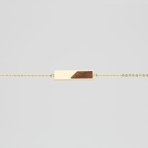 Ephemera Bracelet (Koa/Gold)