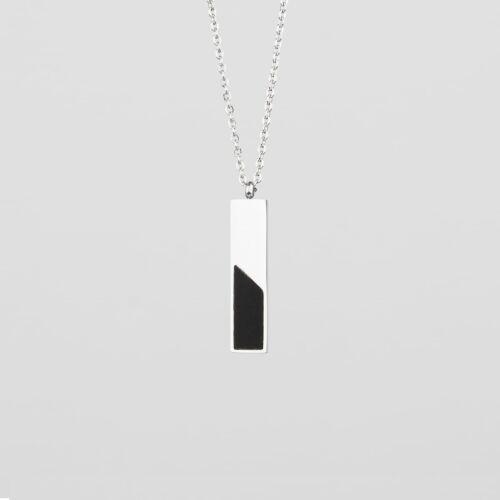 Ephemera Necklace (Slate/Silver)