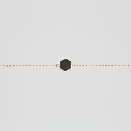 Facade Bracelet (Leadwood/Rose Gold)
