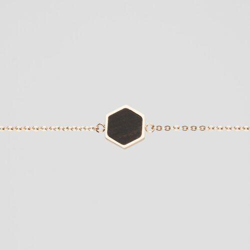 Facade Bracelet (Leadwood/Rose Gold)