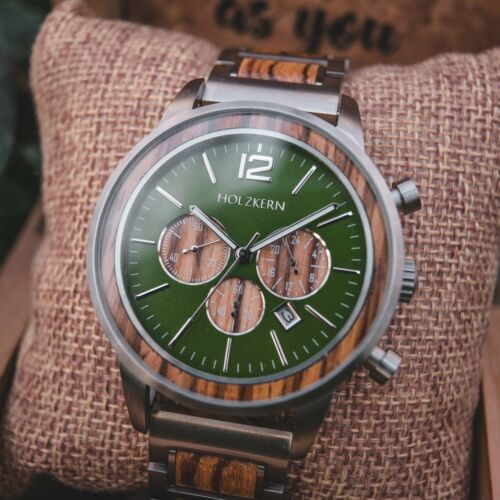 Salvatore (Zebrawood/Green)