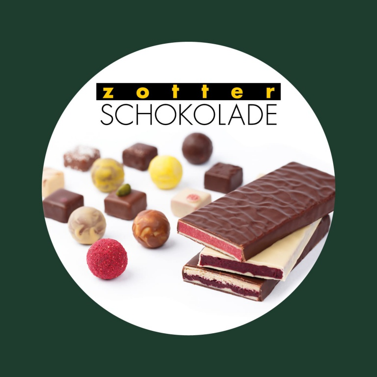 500€ voucher for Zotter chocolate