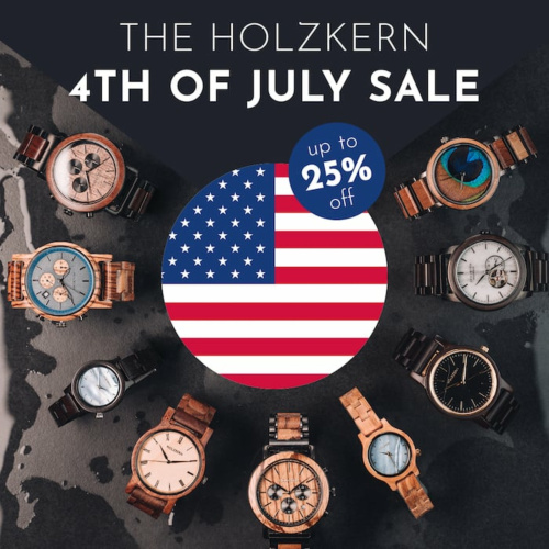 4th Of July Sale - Up To 25% Off