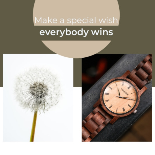 The Holzkern Dandelion - Wish & Win