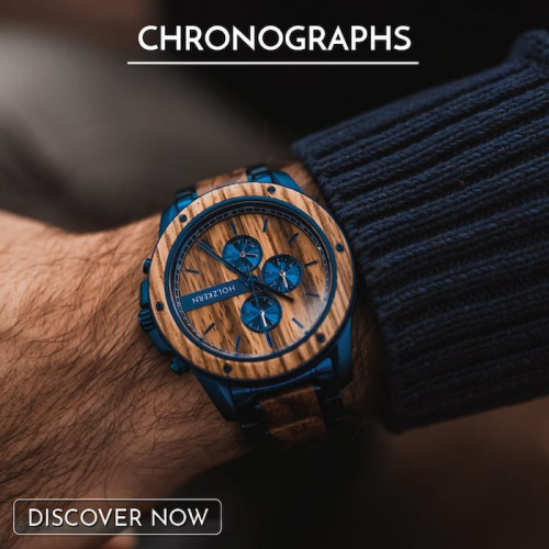 8 great reasons why you should own a chronograph made from wood and stone