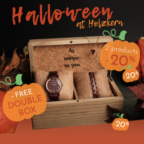 Happy Halloween: -20% off 2 Products