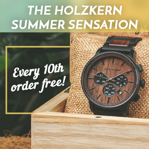 Summer Sensation at Holzkern - every 10th order is free!