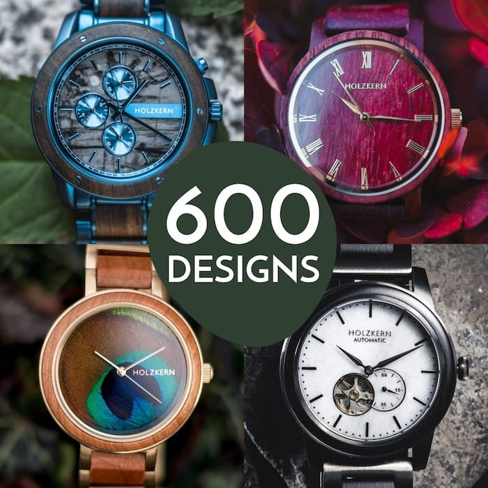 600 Holzkern designs: every model uniquely special