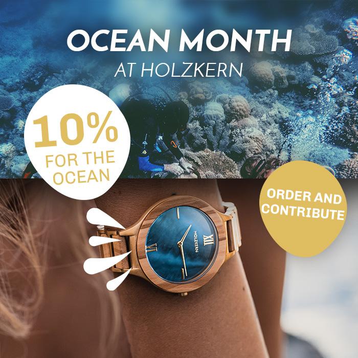 Holzkern Ocean Month - You save, we help