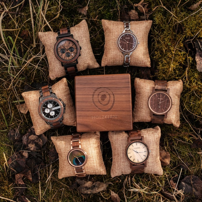 Holzkern Walnut Watches