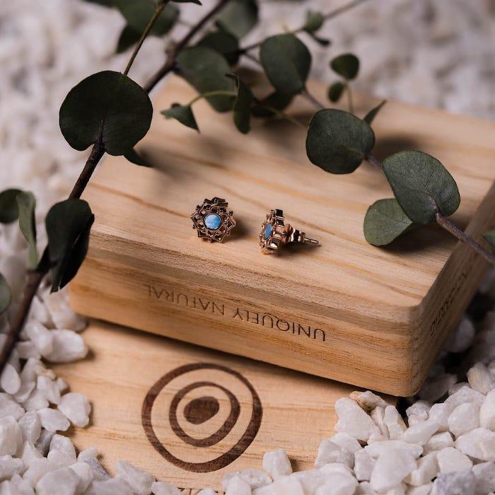 Composition Earrings
