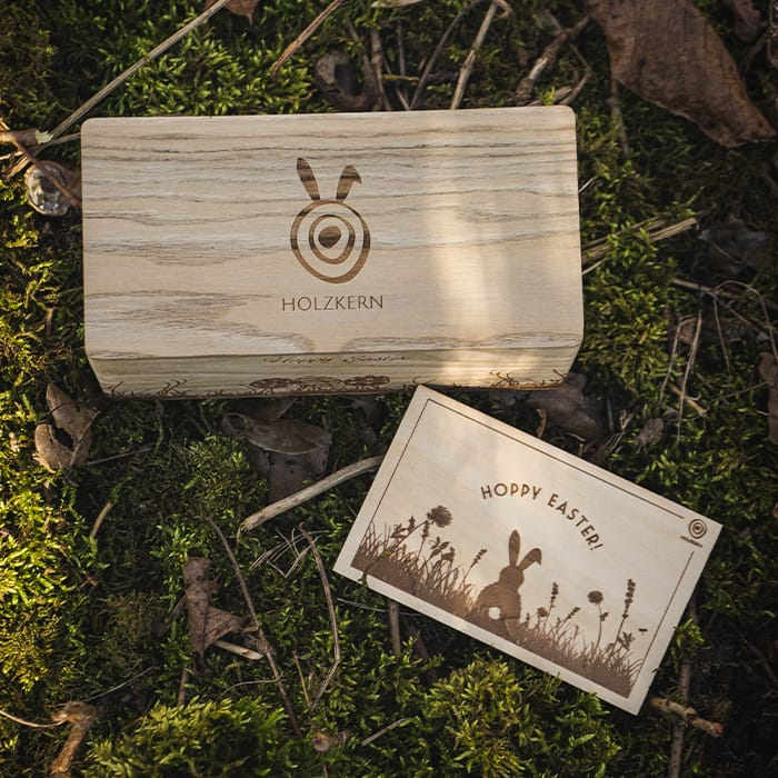 Holzkern Osternest EN 1