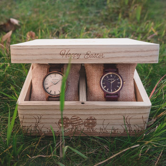 Holzkern Osternest EN 3