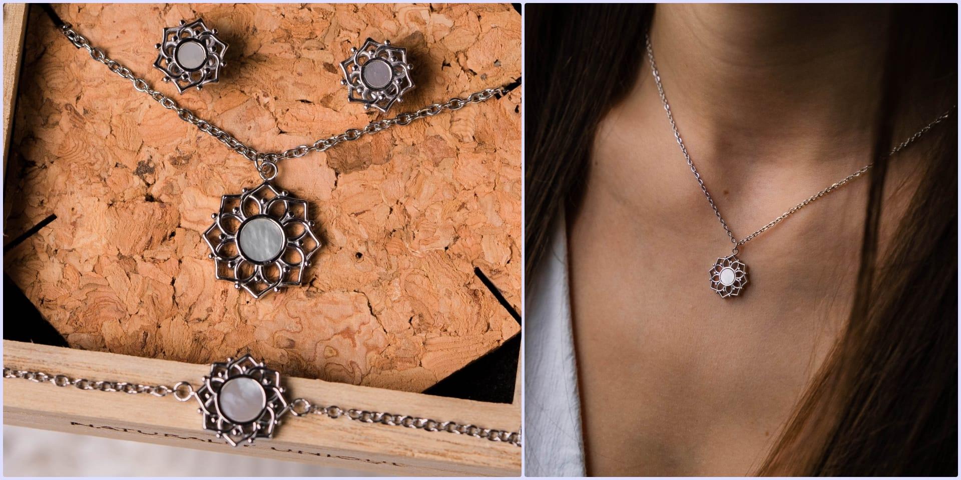 Composition Necklace