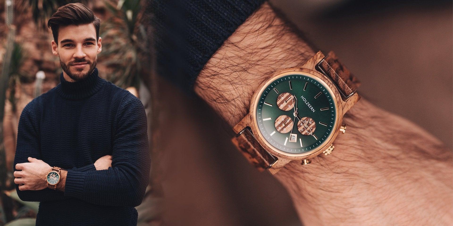 Año nuevo - reloj nuevo Holzkern 3