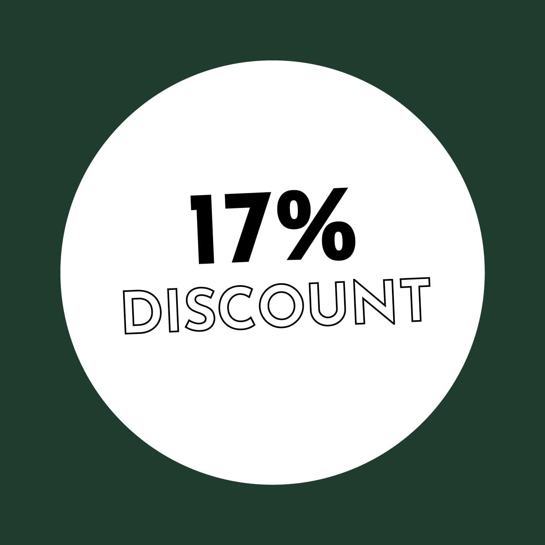 17% Discount
